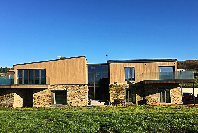 Private clients - the zero carbon house, Bolton